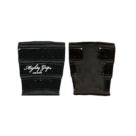 Mighty Grip Upper Arm Protector-Black-Small - image 2 de 3