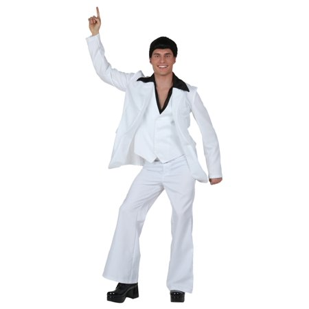 Adult Deluxe Saturday Night Fever Costume - Saturday Halloween