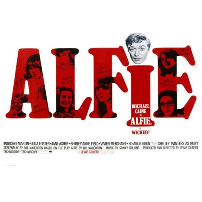 Posterazzi MOVAF6326 Alfie Movie Poster - 27 x 40 in. - image 1 of 1