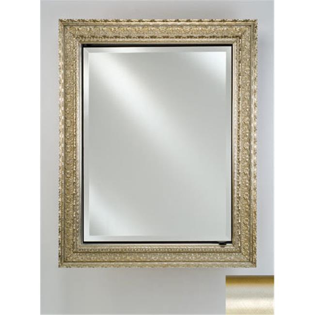Afina Corporation SD1726RSATSV 17 in.x 26 in.Single Door Recessed Cabinet - Brush Satin Silver - image 1 de 1