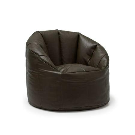 Pleasant Big Joe Milano Bean Bag Vegan Faux Leather Chair Inzonedesignstudio Interior Chair Design Inzonedesignstudiocom