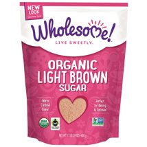 Sugar & Sweetener: Wholesome Organic Light Brown Sugar