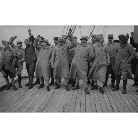 Happy French World War 1 Soldiers On Leave 1915-18 History
