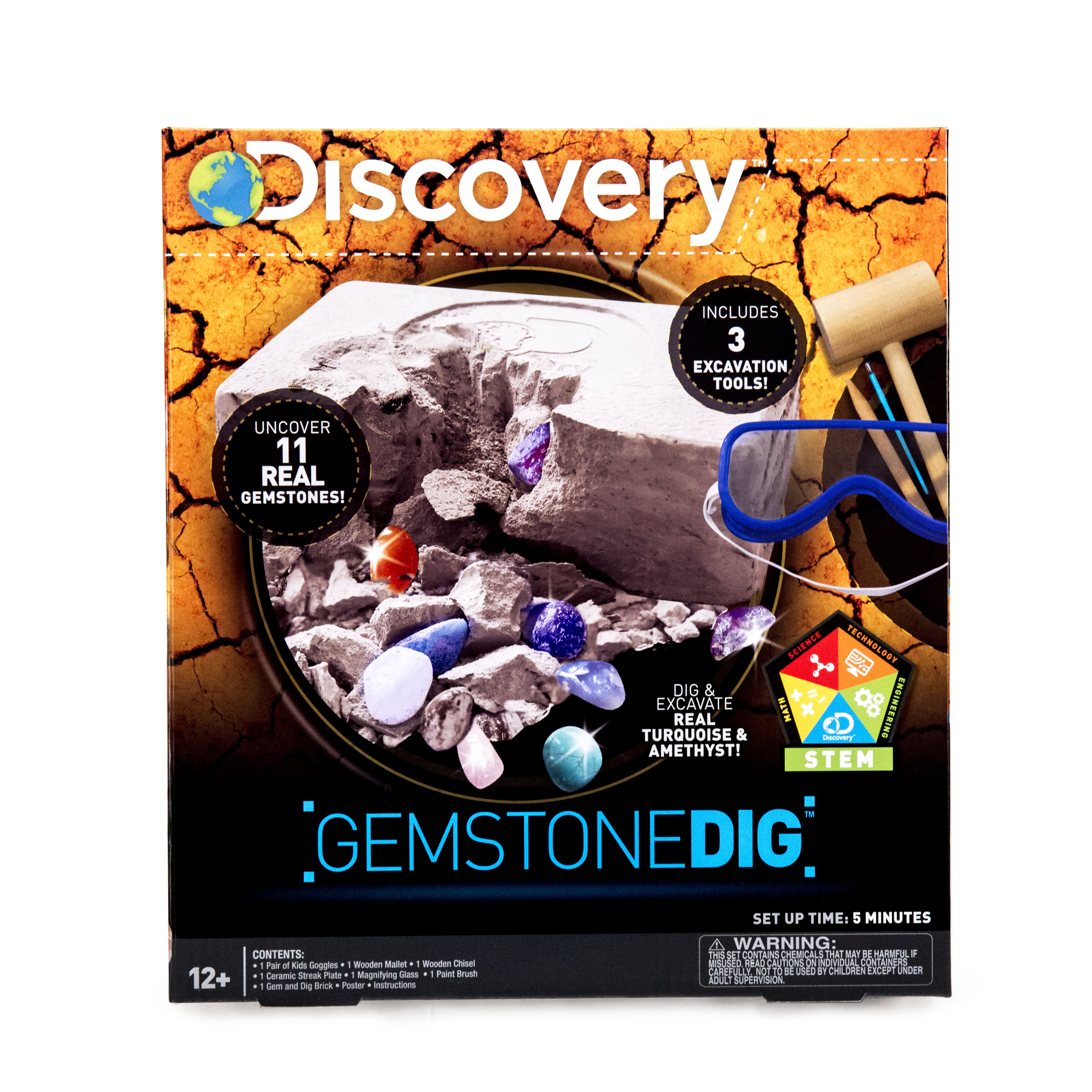 Discovery Gemstone Dig Kit, 1 Each