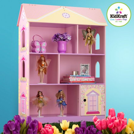 Doll House Bookcase W Flip Top