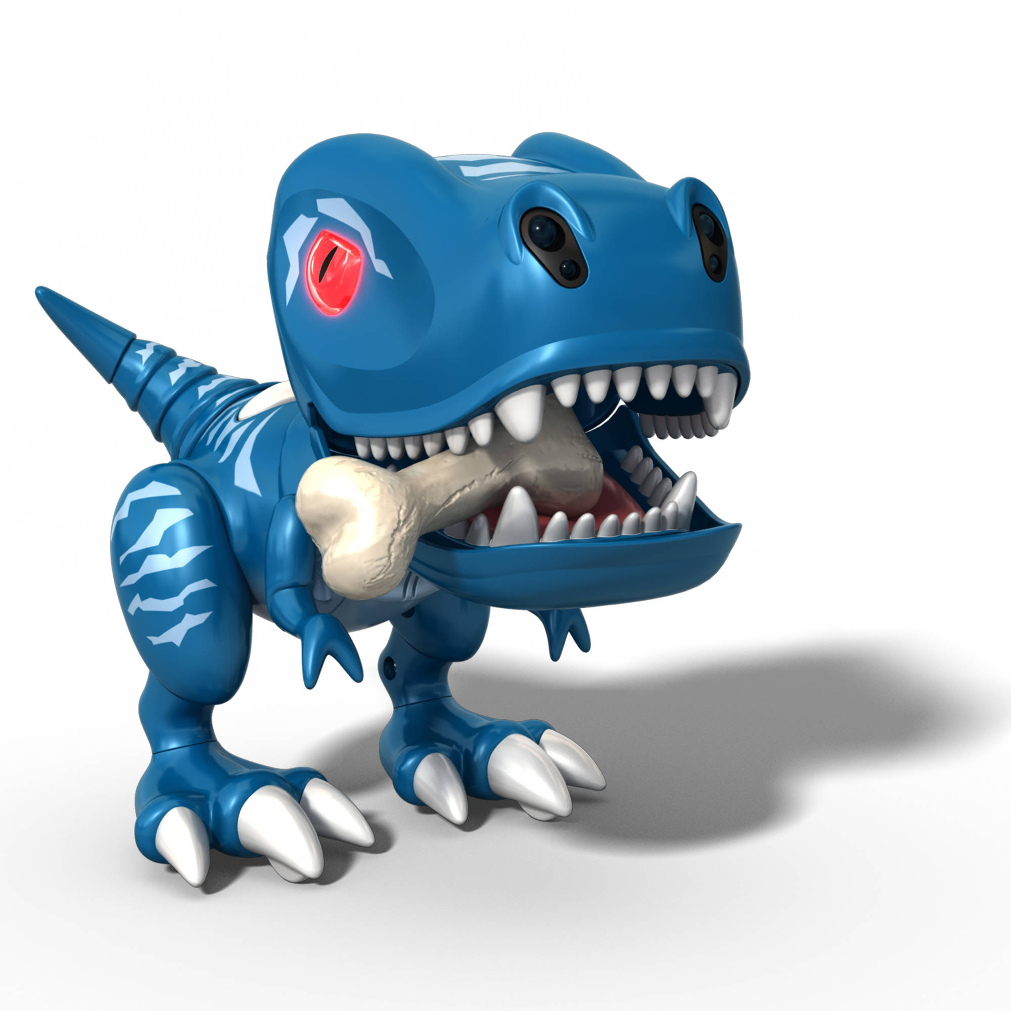 Zoomer Chomplingz Tiger Tail Interactive Dinosaur