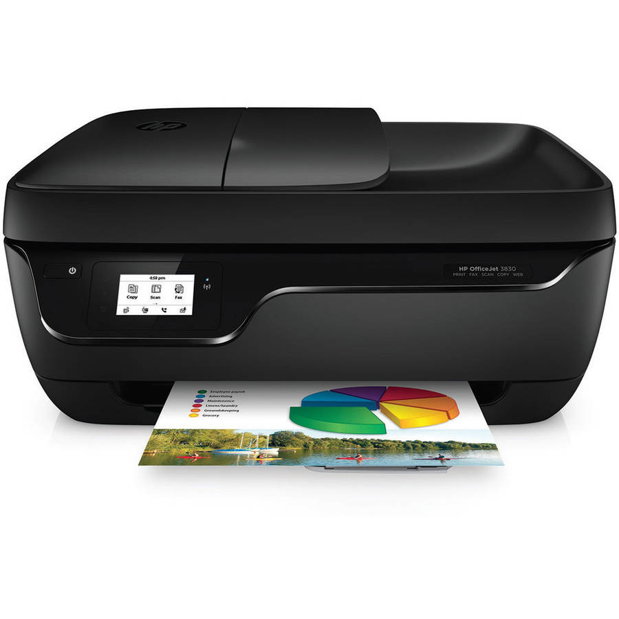 HP Officejet 3830 All-in-One Printer/Copier/Scanner/Fax Machine
