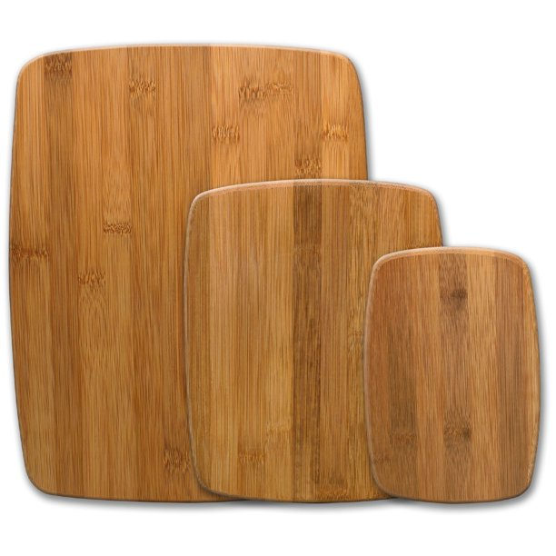 Farberware Classic 3-Piece Bamboo Cutting Board Set
