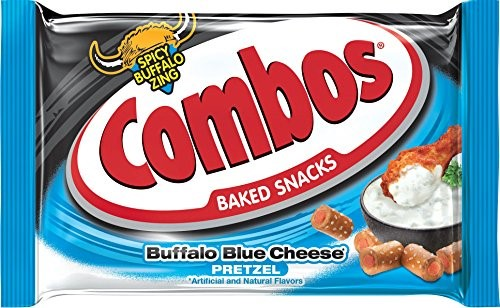 Combos Baked Snacks, Buffalo Blue Cheese Pretzels, Single Serving, 1.8 Oz (Innerpack of... by Mars Chocolate