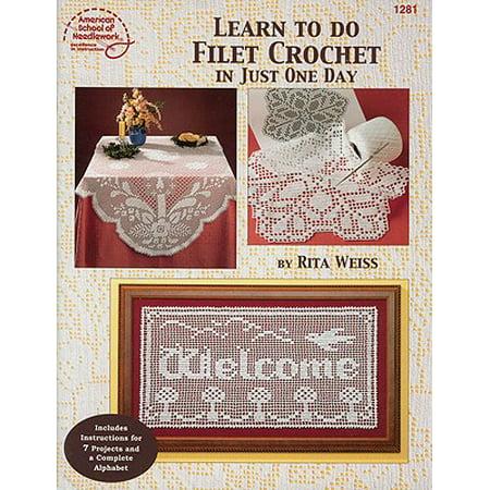 Learn to Do Filet Crochet in Just One - Halloween Filet Crochet Patterns