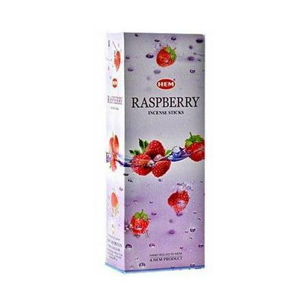 Hem Raspberry Incense, 120 Stick Box