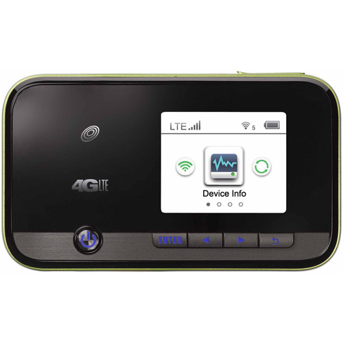 Straight Talk ZTE Z288C 4G LTE Mobile Wifi Hotspot