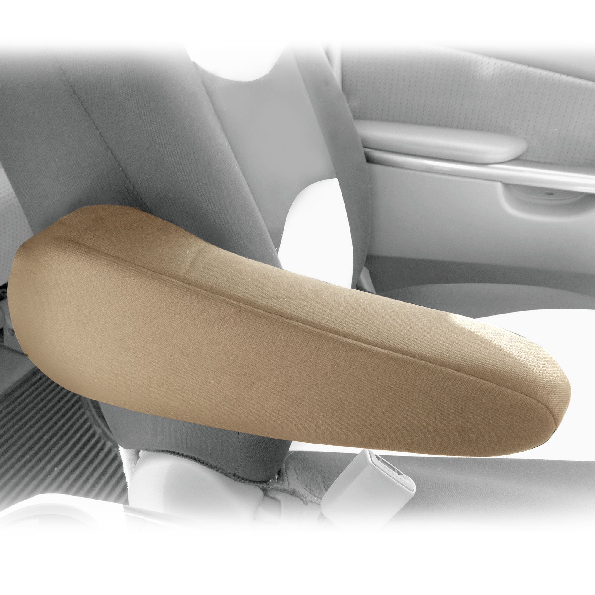 FH Group Cloth Auto Armrest Cover for Car Van Truck Set of 2, One Pair, 3 Colors