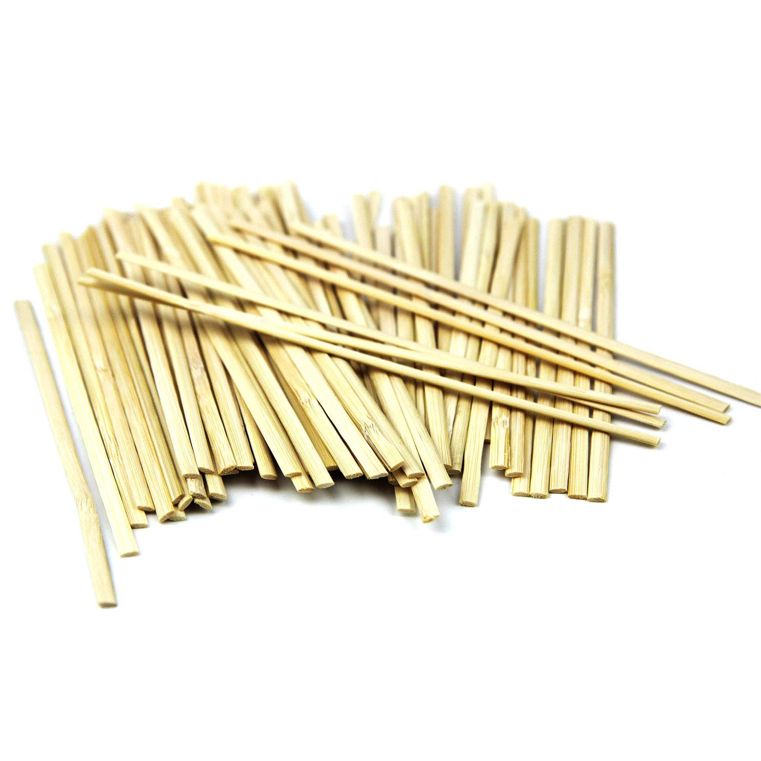 Flat UPlama 600PCS 5.5 Inch Bamboo Coffee Stirrers,Eco-Friendly Splinter Biodegradable Stir Sticks Perfect For Hot /& Cold Beverages As Coffee /& Tea Alternative Bamboo Solution To Plastic Stirrers