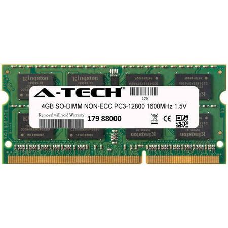4gb Module Pc3 12800 1600mhz 1 5v Non Ecc Ddr3 So Dimm Laptop 204