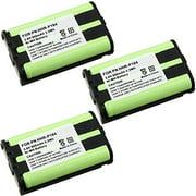 MegaPower (TM) 3X 3PCS 3 PACK For PANASONIC HHR-P104 Cordless Phone Ni-MH Battery