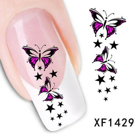 easylife watermark nail sticker nail jewelry nail art