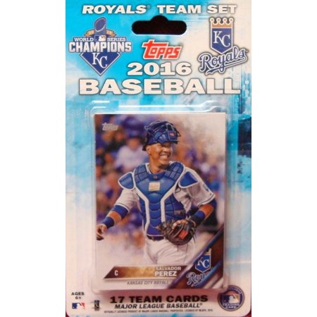 Kansas City Royals 2016 Topps Factory Sealed Special Edition 17 Card Team Set 2015 World Series Champions 1987 Topps Factory Set