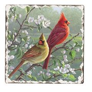 Counter Art CART15980 Beautiful Songbirds Cardinals Trivet