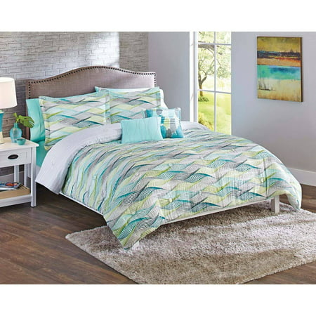 Better Homes and Gardens Cascading Waves 5-Piece Comforter Set