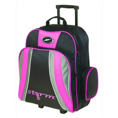 Roller Bar (Storm Rascal 1 Ball Roller Bowling Bag- Pink/Black )