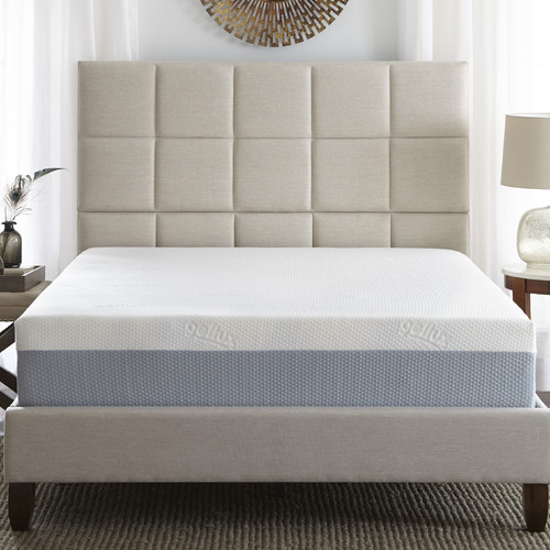 Eco-Lux Rose 12'' Plush Memory Foam Mattress