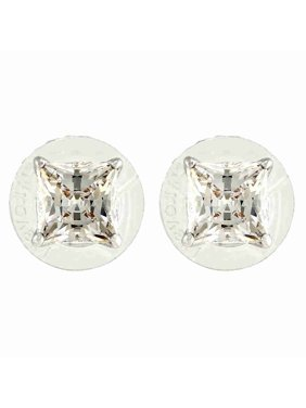 584559f06 Product Image Swarovski Attract Rhodium Plated Stud Earrings