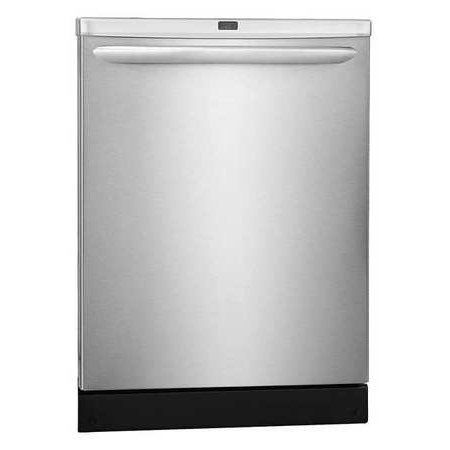 "Frigidaire 24"" Built-in Dishwasher w/ 14 Place Setting, Silver"