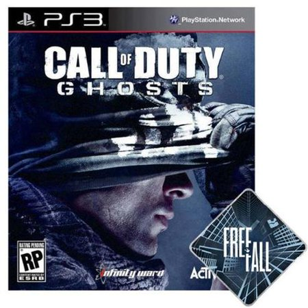 Call of Duty: Ghosts + Free Fall Dynamic Map DLC [USA English Version] PlayStation 3 GAME Free Game Systems