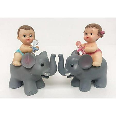 Gender Reveal Baby Shower Girl-Boy Favors On Baby Elephant Decoration (Baby Elephant Shower)