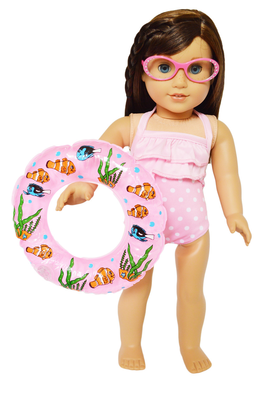 My Brittany/'s Pink Dot Swimsuit for 18 Inch Dolls AMERICAN SELLER