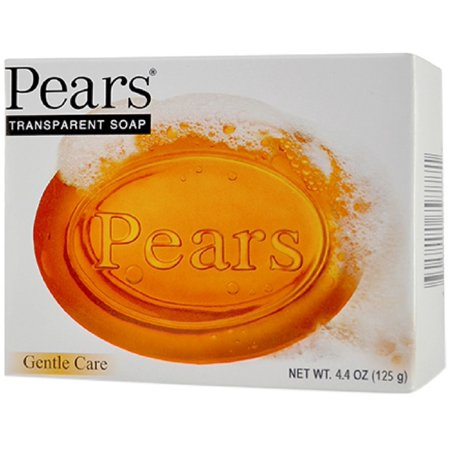 6 Pack - Pears Gentle Care Transparent Bar Soap 4.4 oz