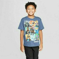Roblox T-Shirt for Boys in Navy Heather Size XL