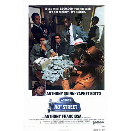 Across 110Th Street  1972  11X17 Movie Poster