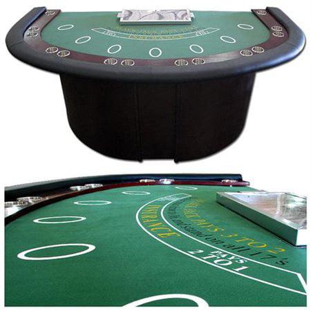 Trademark Poker Deluxe Blackjack Table W