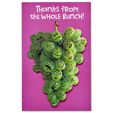 American Greetings Funny Grapeful Thank You Card with Attachment](Halloween Greetings Funny)