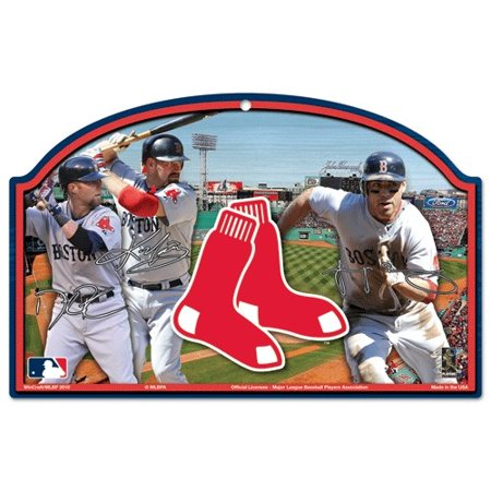 Boston Red Sox Wood Sign - Players Design - image 1 de 1