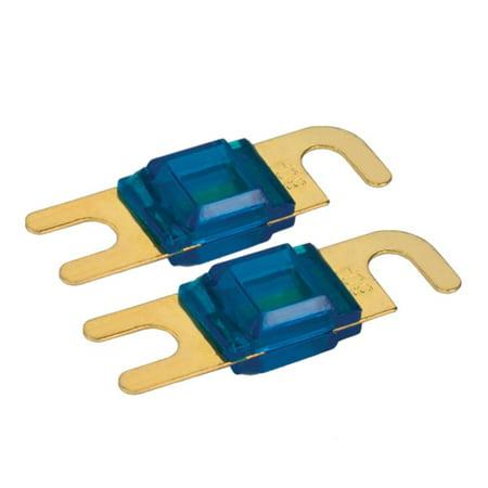 - 80 Amp Mini ANL Fuse, 4 Pc / Blister Pack