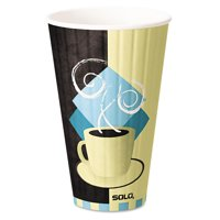 Cup Company Duo Shield Hot Insulated 20 Ounce Paper Cups, 350ct