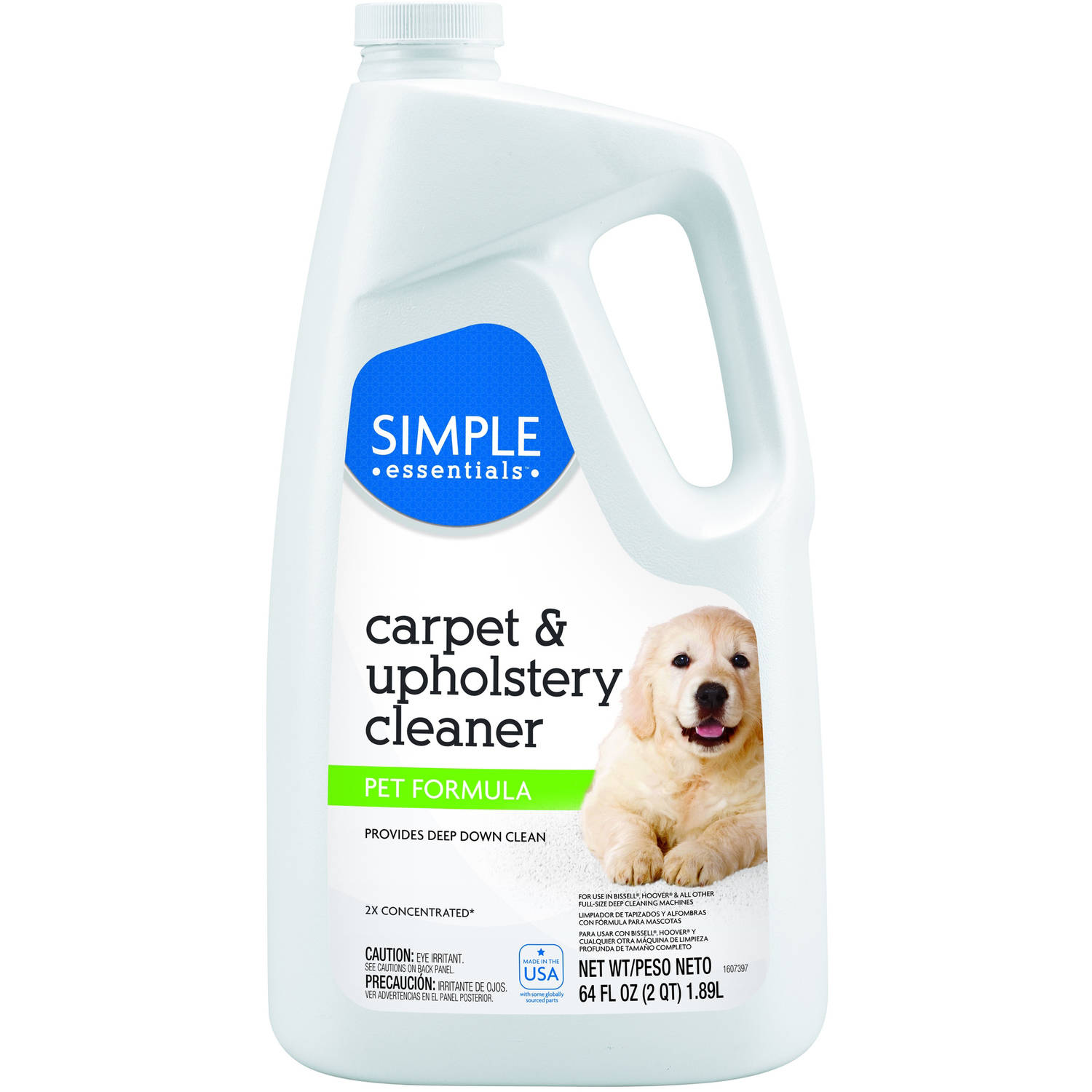 Simple Essentials Carpet & Upholstery Cleaner Pet Formula