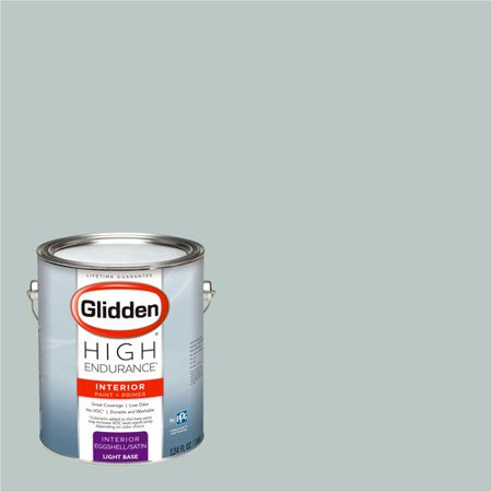 Glidden High Endurance, Interior Paint and Primer, Icy Teal, #50GG - Teal Paint
