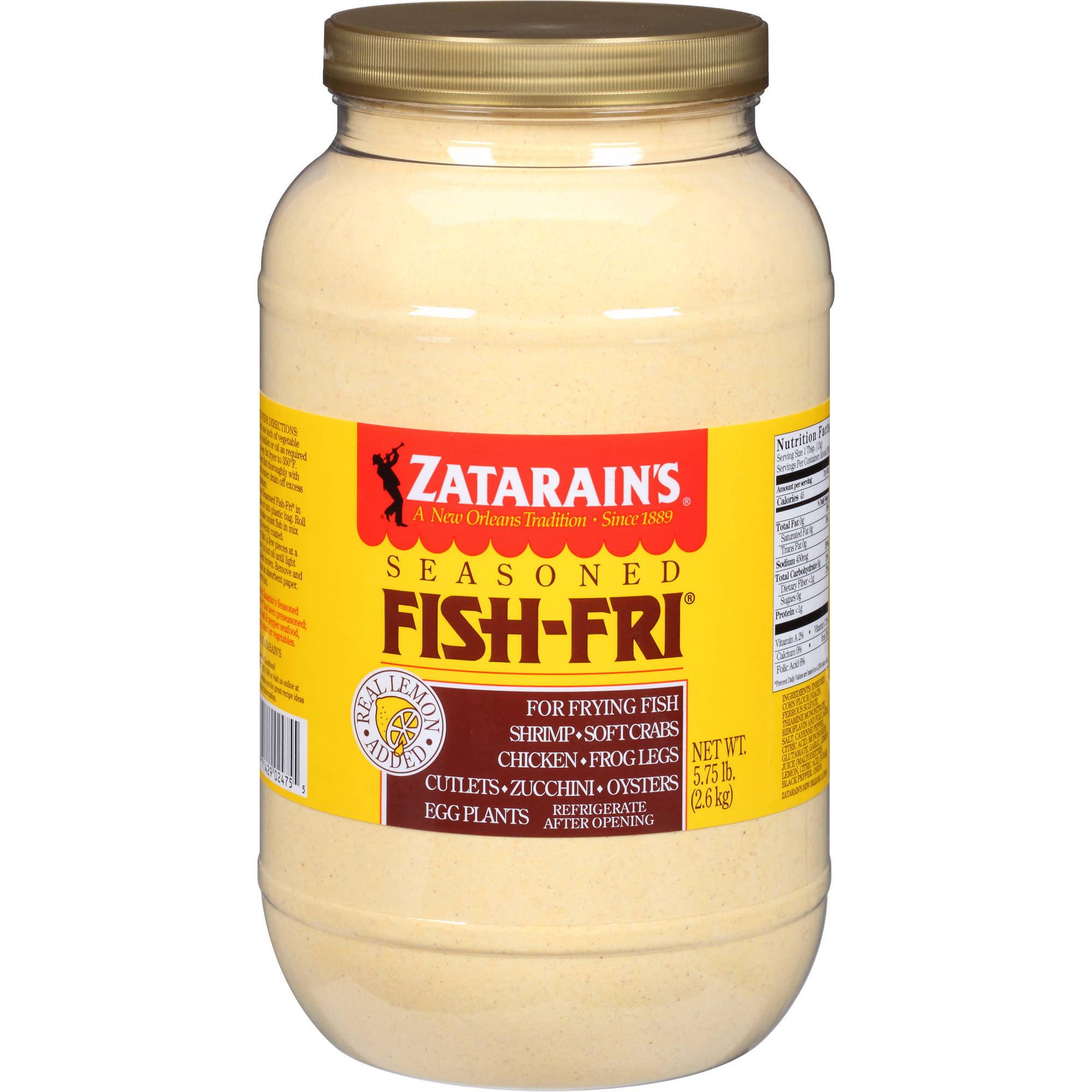 Zatarain's Seasoned Fish-Fri Mix, 5.75 lbs