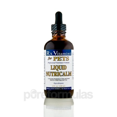 Rx Vitamins for Pets Liquide NutriCalm Chiens et chats 4 oz