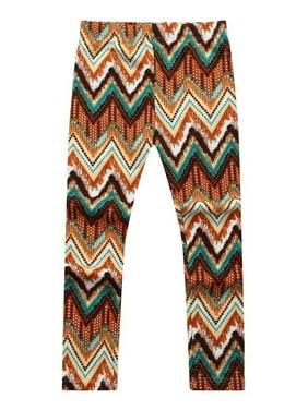 Girls' Patterned Stretch Pants RH0704