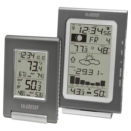 Digital Wireless Weather Station with Indoor/Outdoor Thermometer