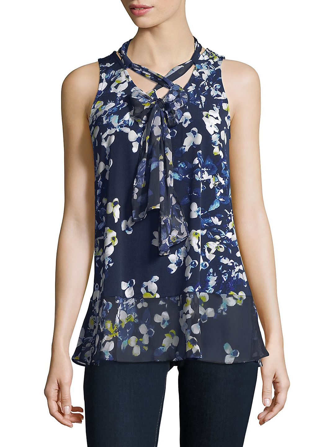 Self-Tie Tank Top