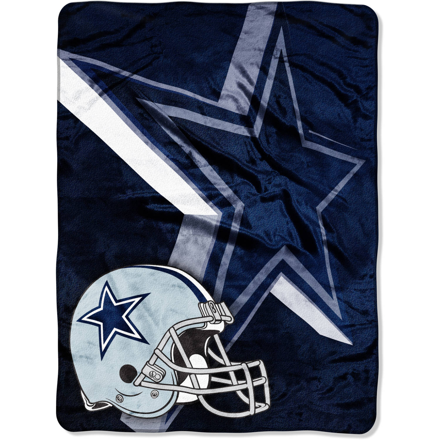 "NFL Dallas Cowboys 60"" x 80"" Oversized Micro Raschel Throw"