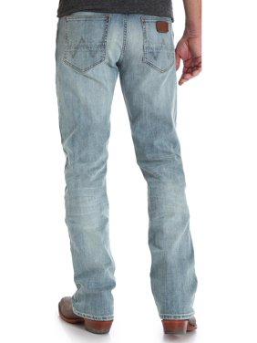 0434483c85e Product Image Wrangler Men's Indigo Retro Slim Fit Jeans Boot Cut - 77Mwzbr