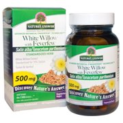 White Willow with Feverfew Standardized Nature's Answer 60 VCaps