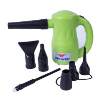 XPOWER B-53 Airrow Pro Multipurpose Home Pet Dryer, Duster, Air Pump, Blower - Green